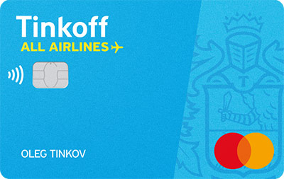 Заказать карту Tinkoff ALL Airlines